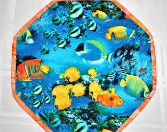Aquatic Life Table Quilt