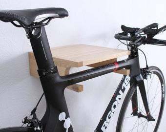Berlin - wooden bike holder / bike wall mount / bike rack / bicycle storage