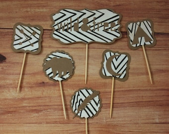 Camp Cupcake Toppers (set of 23)