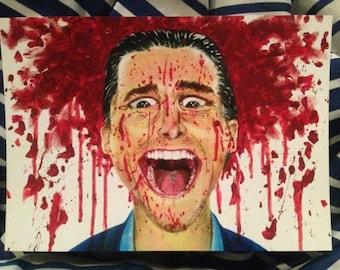 Patrick Bateman American Psycho Horror Print