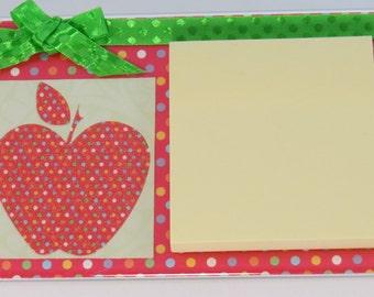 Post it note holder, teacher gift