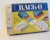 Rack-O Card Game, era 1966