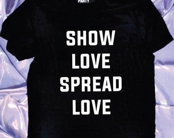 Show LOVE Spread LOVE - GRiZ love tee