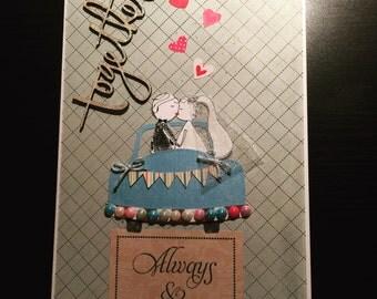 Custom Made Wedding Card