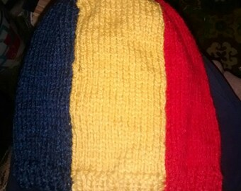 Cap winter flag Romania for adult one size