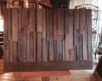 Old barn wood decorative frame