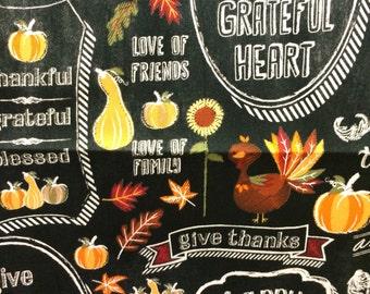 Black Thanksgiving Valance