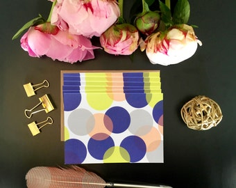 Overlapping Circles Card Pack
