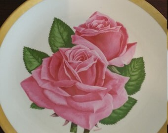 American Rose Society Collector Plate 1979