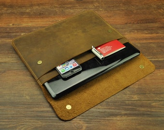 """Dell laptop case 11""""/12""""/13""""/14""""/15"""",Dell Inspiron sleeve , Dell XPS 13,Dell Chromebook , leather dell laptop cover , laptop case"""