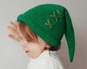 Green Knitted Hat, Hat Inspired by Legend of Zelda, Inspired by Link, Geekery, Geek, Baby Hat, Gift