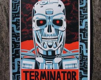 Terminator - Large screen print