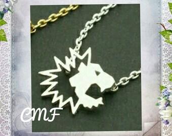 Lion Necklace 925 Sterling Silver Necklace Lion Pendant