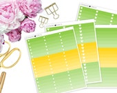 2016 August ECLP Ombre Boxes -- Matte Planner Stickers