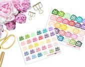 Date Night -- Matte Planner Stickers