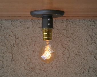 Industrial Ceiling Light, Ceiling light, Sconce Lighting,Wall Mount Lighting, Edison Bulb Lighting