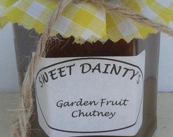 CHUTNEY. Garden Fruit Chutney