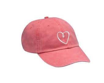SK Sigma Kappa Heart Hat Choose Your Colors Sorority Hat