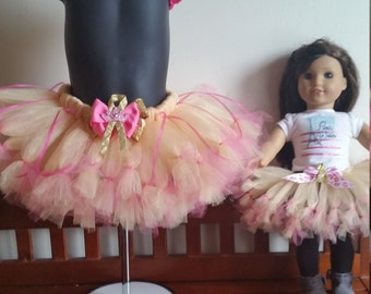 Childhood cancer awareness tutu set