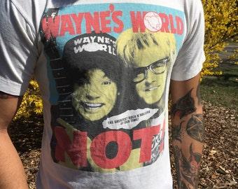 Wayne's world Not! Tee shirt 1992