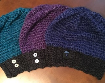 "Una ""Slightly"" Slouchy Hat"