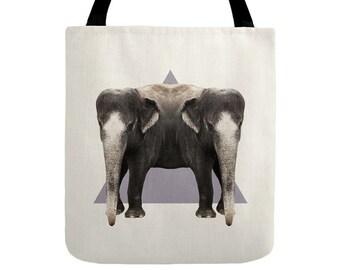 Elephants Tote Bag - Double Animals