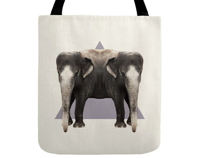 Elephants Tote Bag - Double Animals