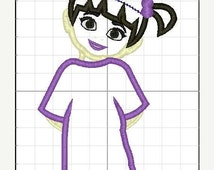 On Sales Now INSTANT DOWNLOAD - Boo Applique in 2 Sizes