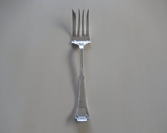 ROGERS SILVER PLATE Serving Fork
