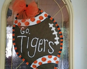 Roll Tide/War Eagle Burlap Door Hanger