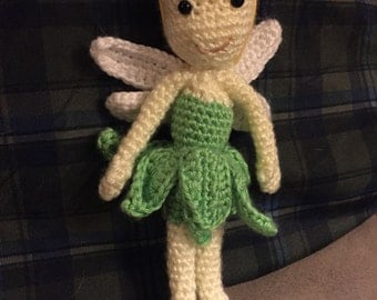 Tinkerbell the crocheted Soft Friend