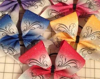 Swirl bow