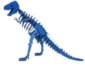 Dinosaur Toy, Dinosaur Puzzle, 3D Dinosaur Skeleton Puzzle, Recyclable PVC Tyrannosaurus Rex T Rex Dinosaur Puzzle Toy BLUE, Eco-Friendly