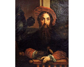 Portrait Of Galeazzo Sanvitale Oil Canvas After Parmigianino