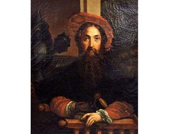 Portrait Of Galeazzo Sanvitale Oil Canvas After Parmigianino