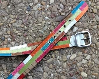 90.  Retro Leather Belt 43 inches