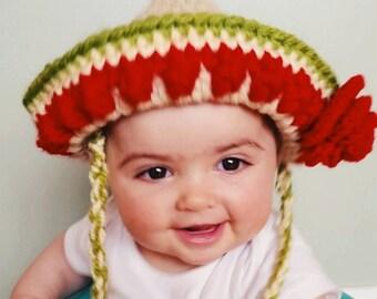 Sombrero Newborn/Baby/Toddler/Adult/Cinco de Mayo/Fiesta/Mexican Sombrero/Newborn Photo Prop