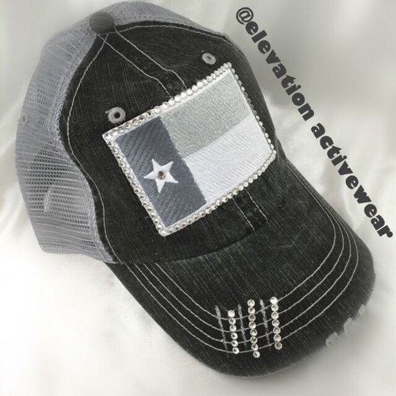 Womens Texas Flag Hat Lone Star State Texas Flag By Elivata