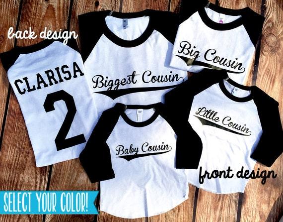 Cousins Shirts Big Cousin Middle Cousin Little Cousin