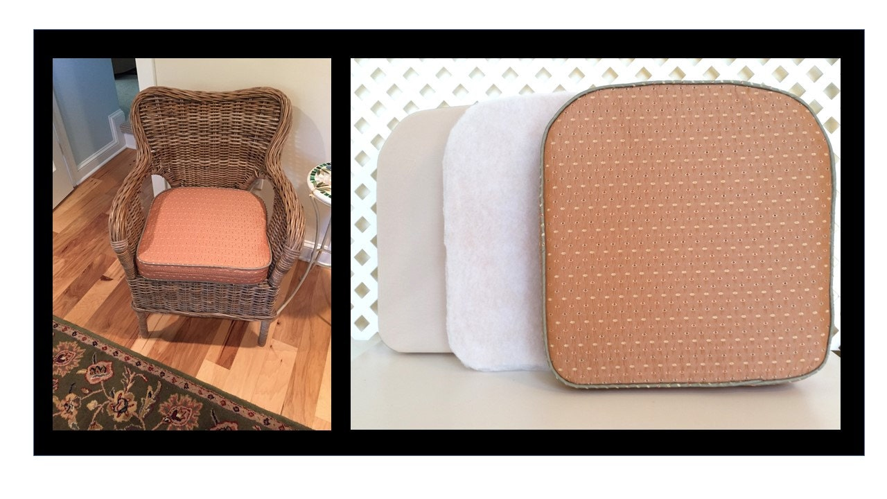 Custom Bench And Chair Cushions With Piping