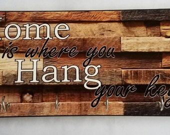 Personalized Key hanger