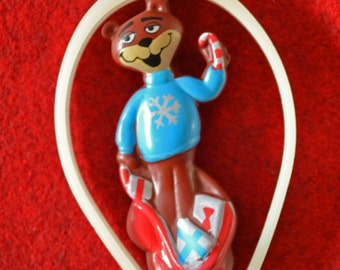 1995 Sugar Bear Cereal Box Prize Ornament