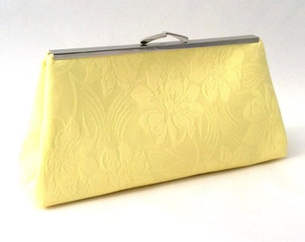 Yellow  Purse ~ Yellow Handbag ~ Yellow Travel Purse ~ Yellow Clutch