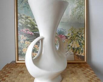 Vintage Urn Shaped Vase  -  1950s Display Vase
