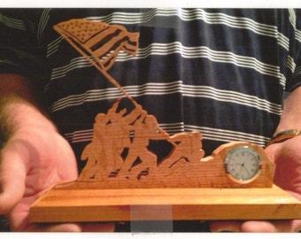 Iwo Jima Clock