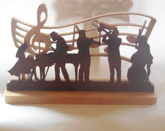 Jazz band table home decor