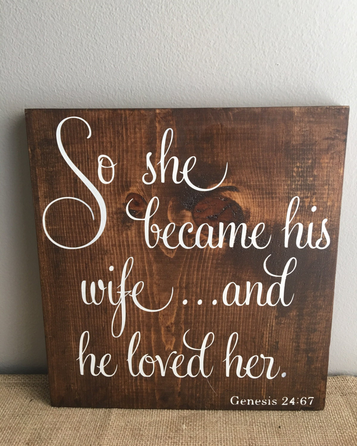 he loved fucking his wife