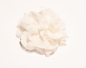 Pet Collar Accessory - Flower Puff, Blush