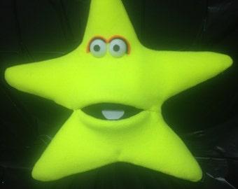 Jumbo Black Light Star Puppet