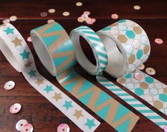 Washi tape - set of 4